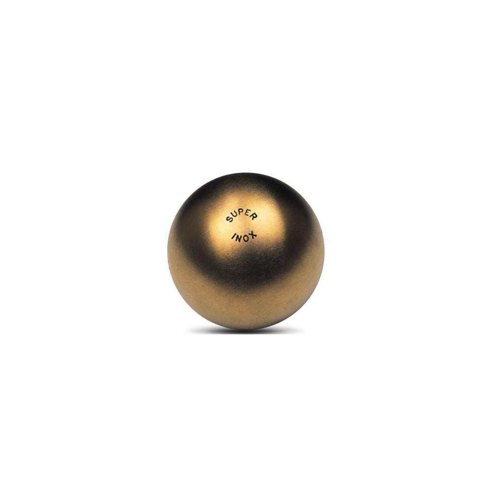 La Boule Bleue Super Inox 125 Boule de pétanque Demi-Dure